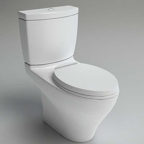 3d toto aquia toilet cst414m model - TOTO Aquia Toilet CST414M... by ts303